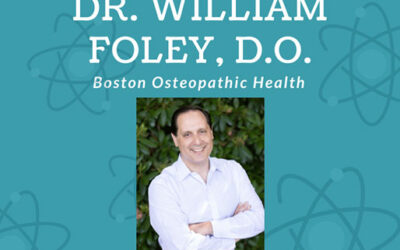 Dr. Bill Foley met with Northeastern University's Pre-SOMA Chapter
